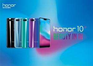 Tiedote: Honor 10 -älypuhelin saa kaksi merkittävää päivitystä elokuussa