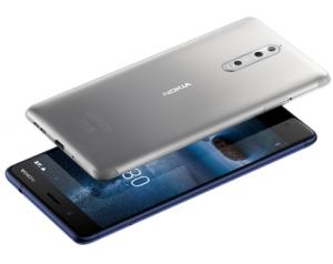 Lehdistötiedoite: Nokia 8:n myynti alkoi verkkokauposta hintaan 579 euroa