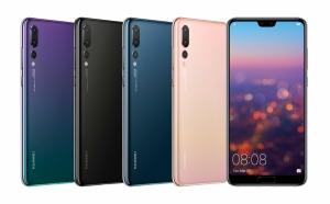 Huawei tuo markkinoille P20 -sarjan, Pro malli varustettu 40 megapikselin kameralla