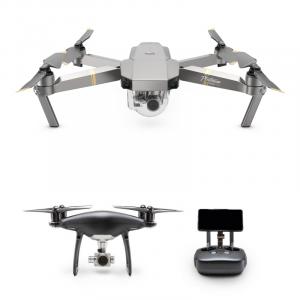 DJI julkisti kaksi päivitettyä Dronea: Mavic Pro Platinumin ja Phantom 4 Pro Obsidianin