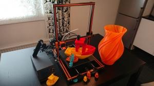 Testissä Anet E12 – Suuri pinta-alainen 3D-tulostin
