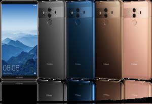 Huawei julkisti odotetun Huawei Mate 10 -puhelinmalliston (Tiedote)