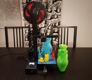 Arvostelussa: Creality Ender-2 3D-tulostin