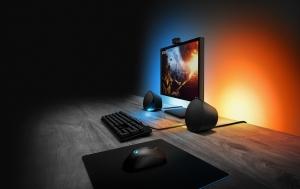 Logitech julkisti valovoimaiset pelikaiuttimet ja pelinäppäimistön LIGHTSYNC-tuella
