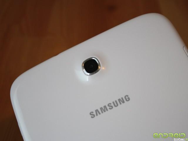 Samsung Galaxy Note 8:n takakamera