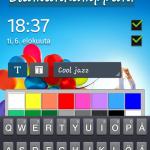 Galaxy S4 Mini lukitusruudun muokkaus