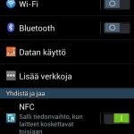 Galaxy S4 Mini asetukset