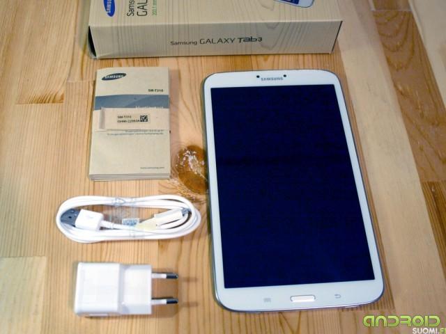 "Galaxy Tab 3 8"" paketti"