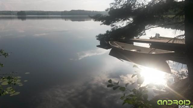 Kesä, vene, heijastus