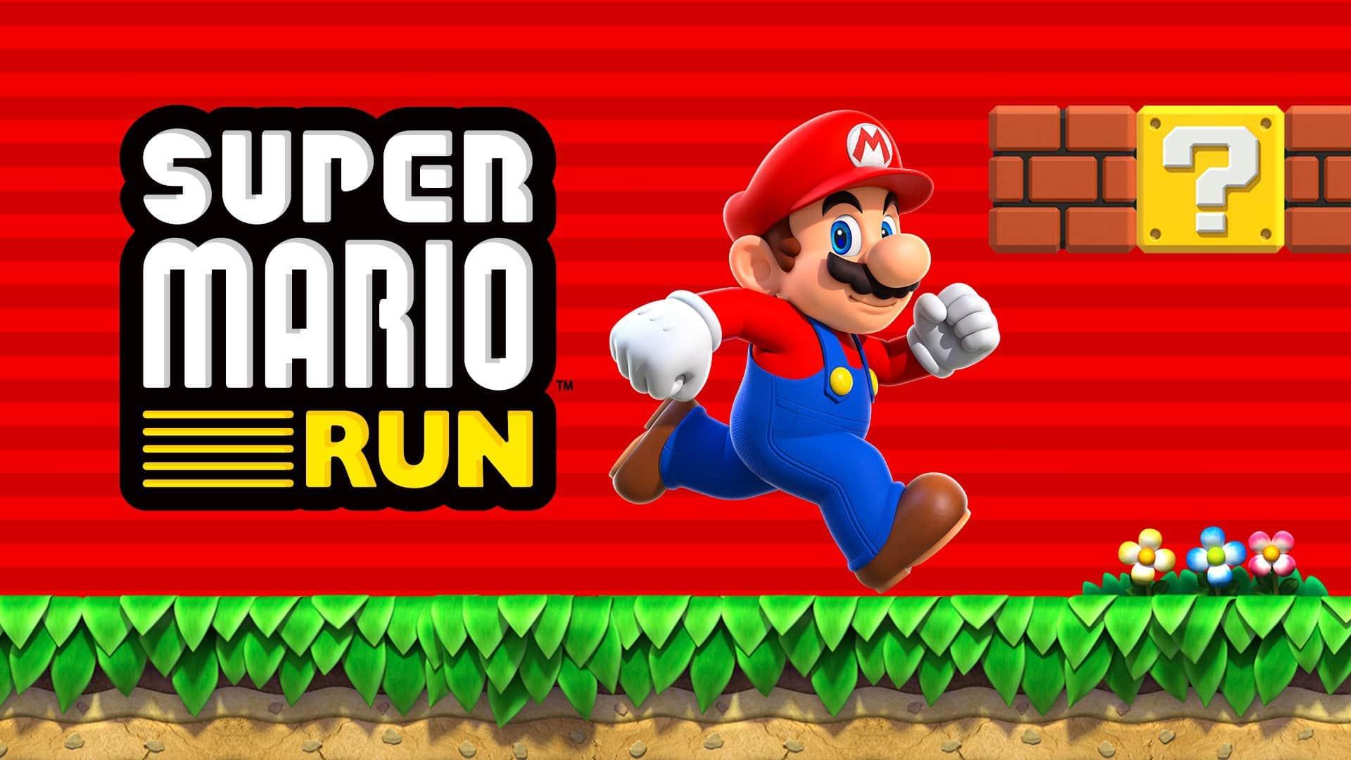 Super Mario Run saapuu Android -laitteille huomenna