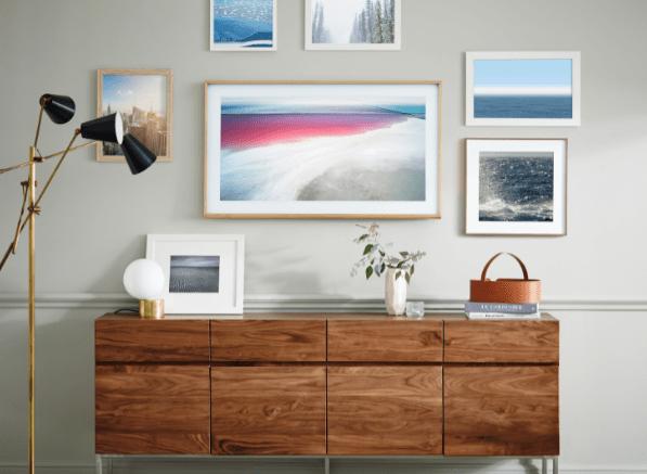 Samsung esitteli sisustajan unelman: The Frame -television