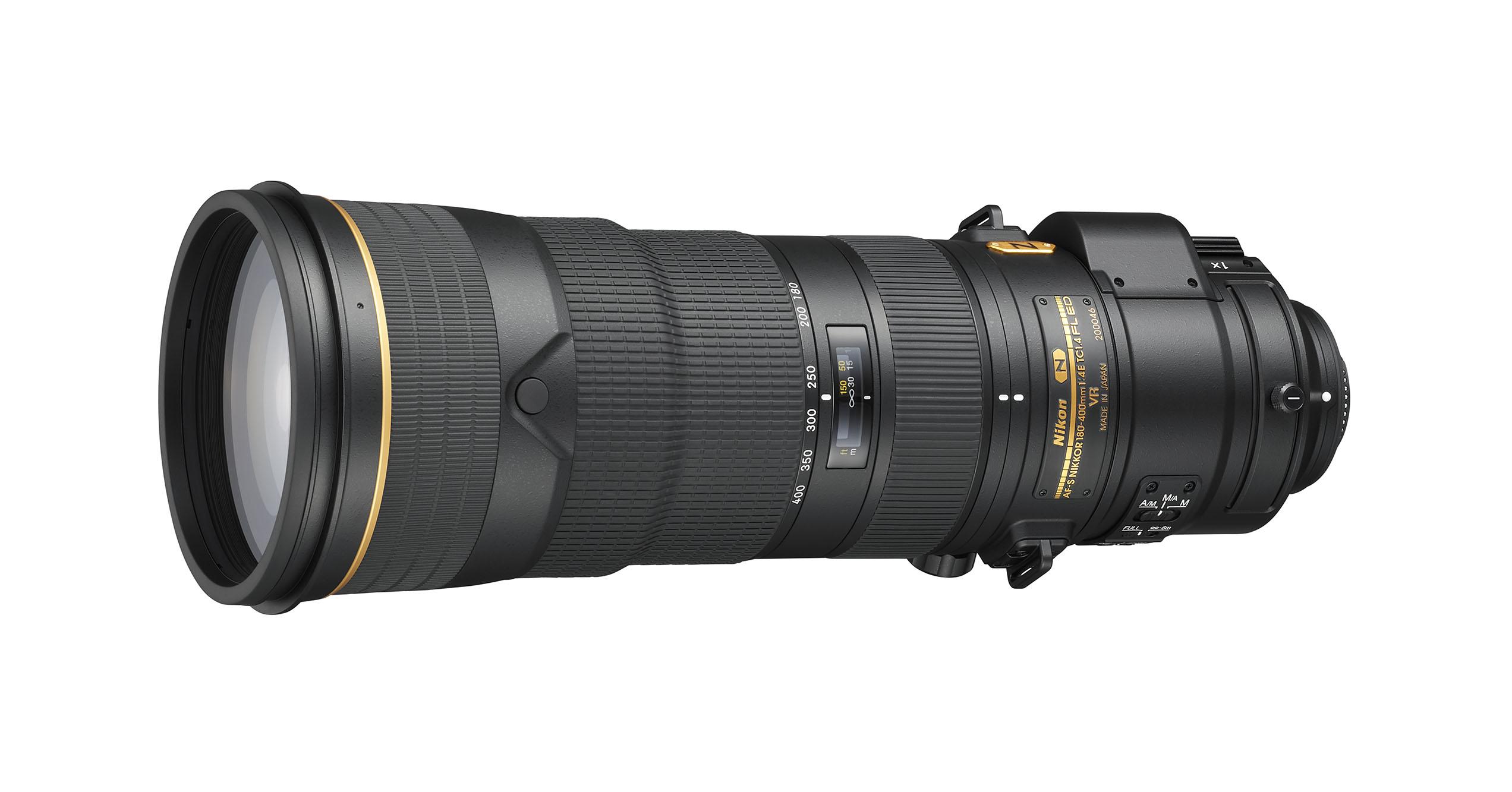 Nikon julkistaa AF-S NIKKOR 180–400mm f/4E TC1.4 FL ED VR -objektiivin