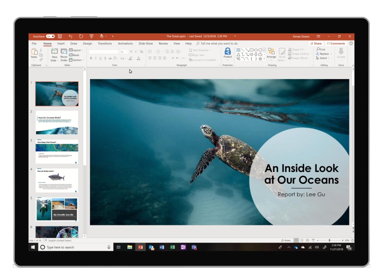 Microsoft Powerpoint saa reaaliaikaisen puheentunnistuksen
