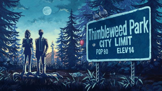 Epic Games Store tarjoaa Thimbleweed Parkin ilmaiseksi
